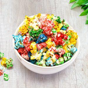 Pop corn de colores